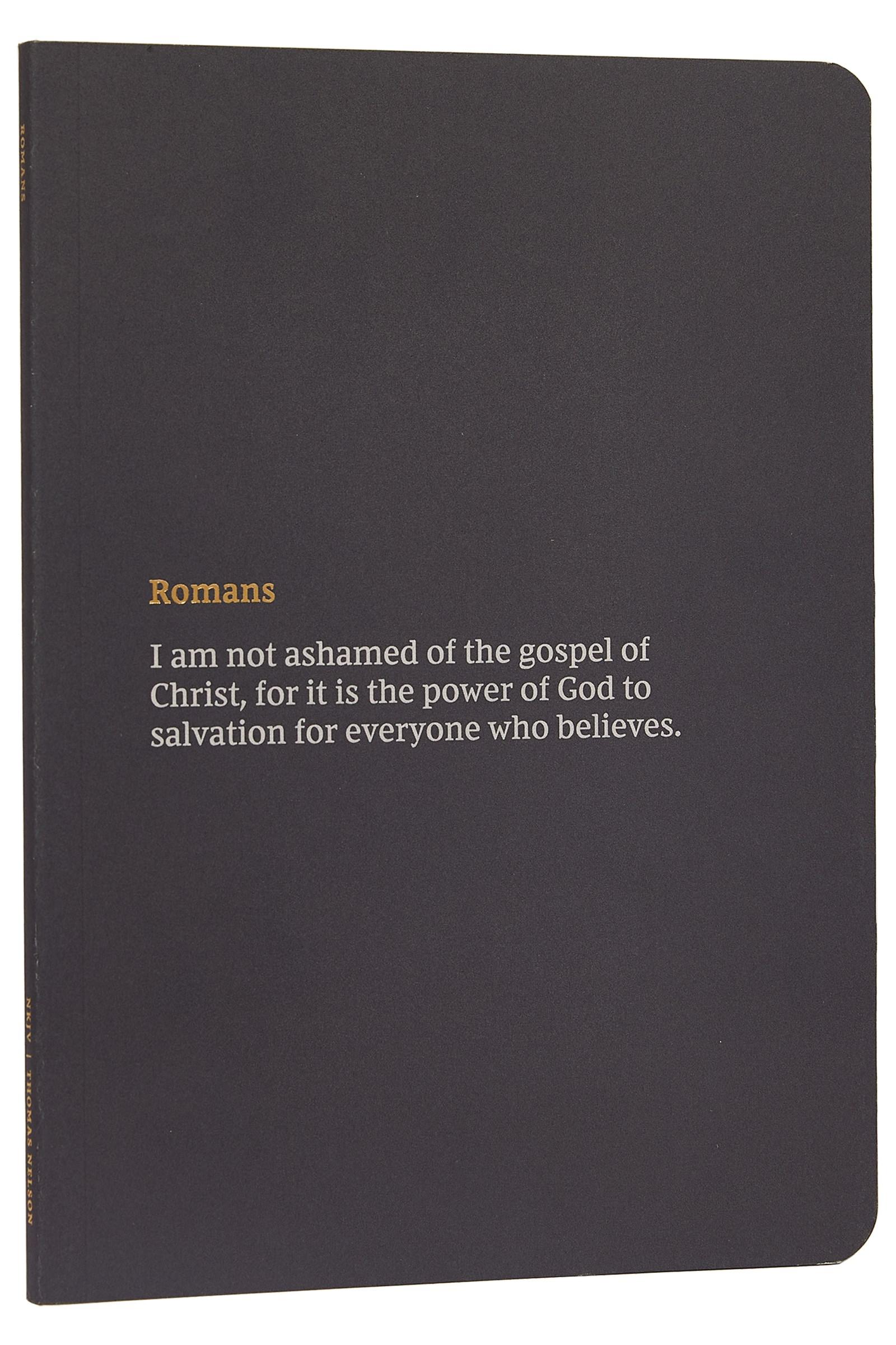 NKJV Bible Journal: Romans-Softcover