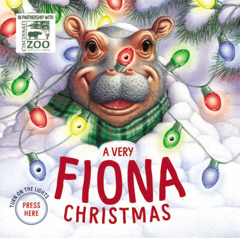A Very Fiona Christmas (A Fiona The Hippo Book)-Board Book