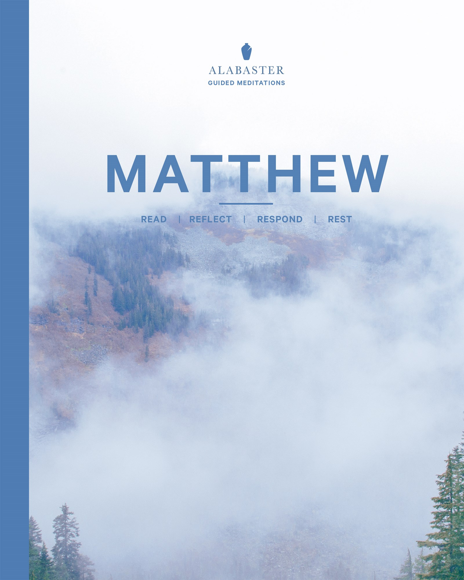 Matthew (Alabaster Guided Meditations)-NLT-Softcover