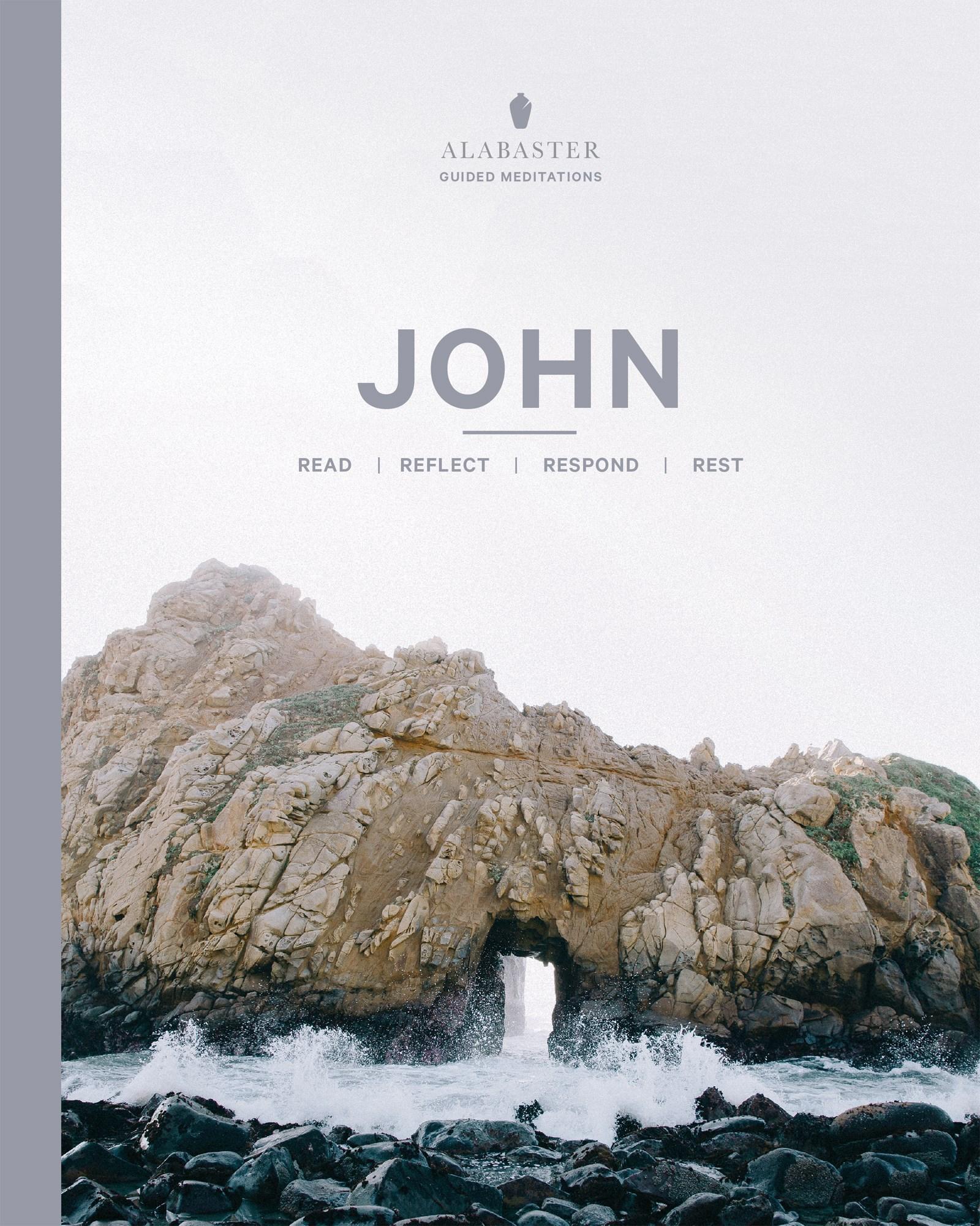 John (Alabaster Guided Meditations)-NLT-Softcover