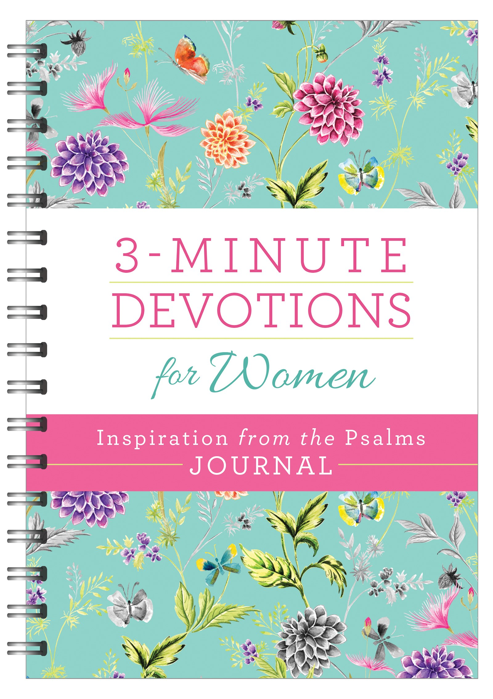 3-Minute Devotions For Women: Inspiration From The Psalms Journal