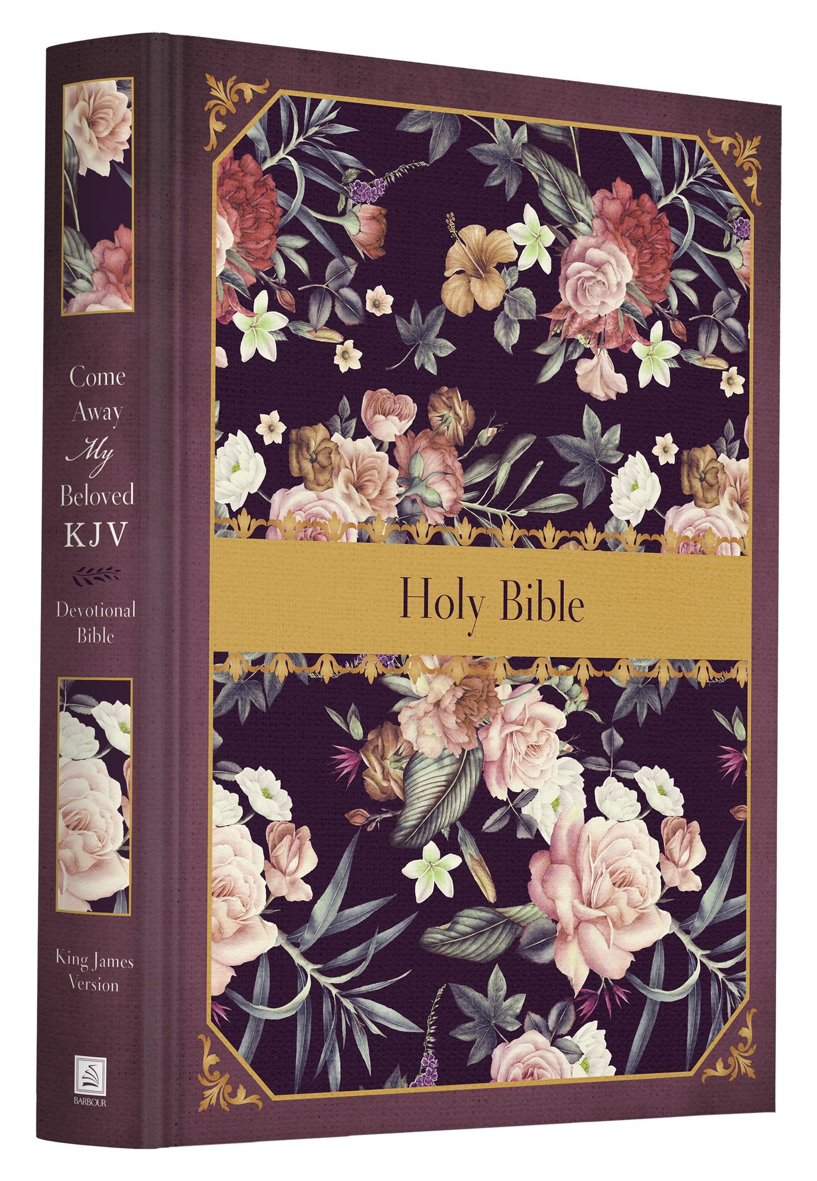 KJV Come Away My Beloved Devotional Bible-Hardcover