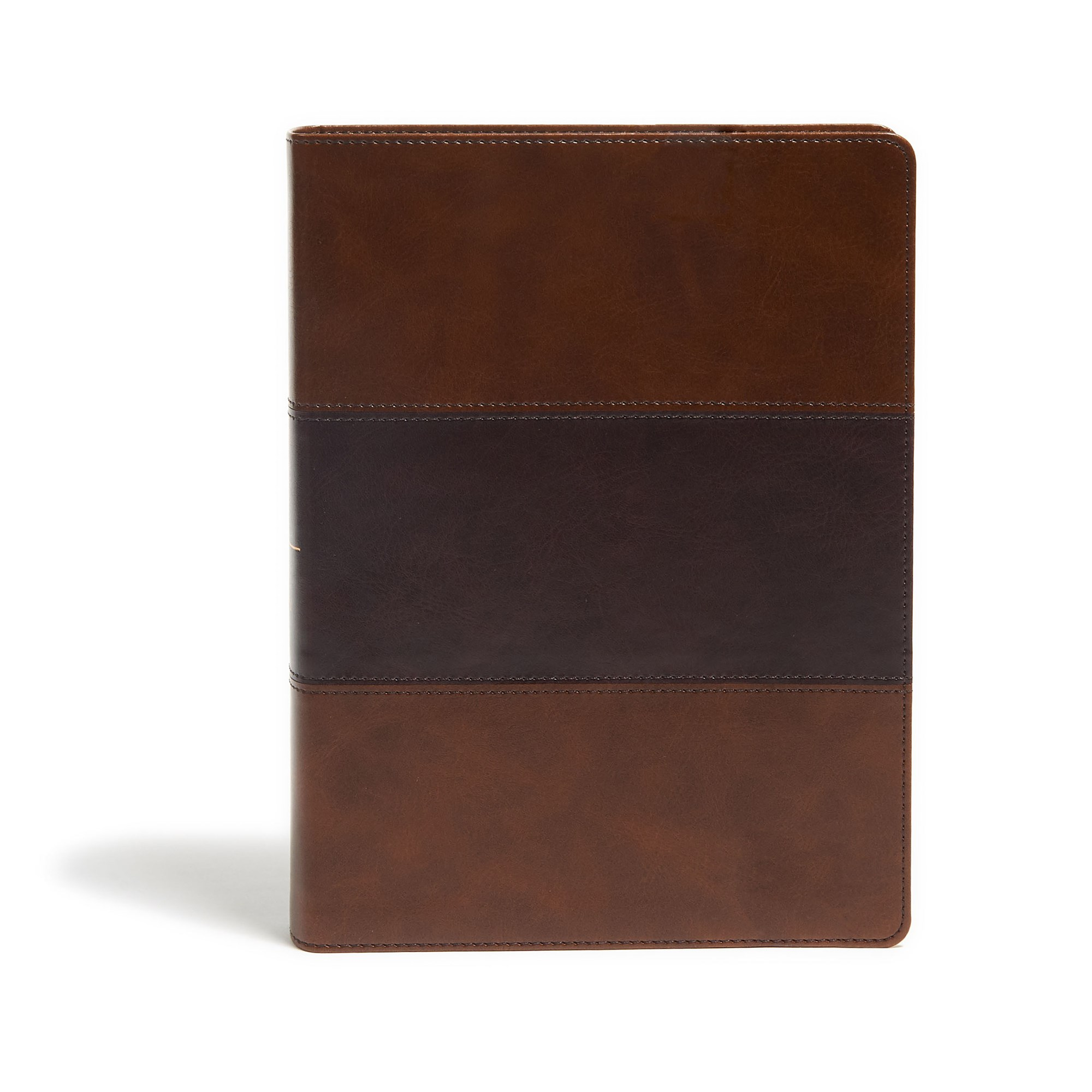 KJV Study Bible (Full-Color)-Saddle Brown LeatherTouch Indexed