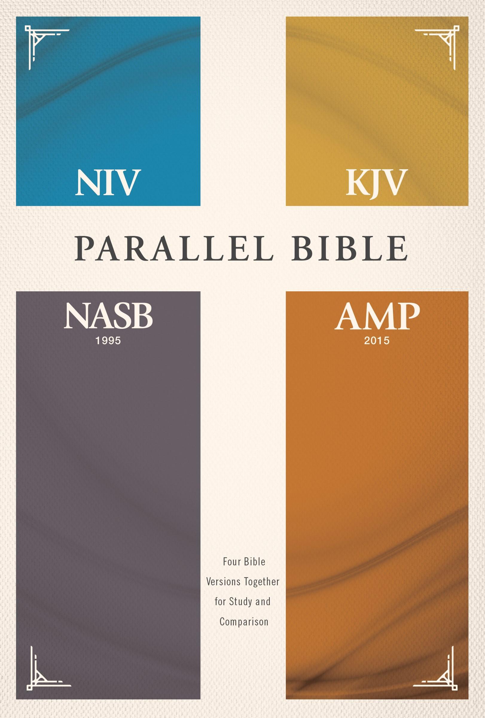 NIV/KJV/NASB/Amplified Parallel Bible-Hardcover