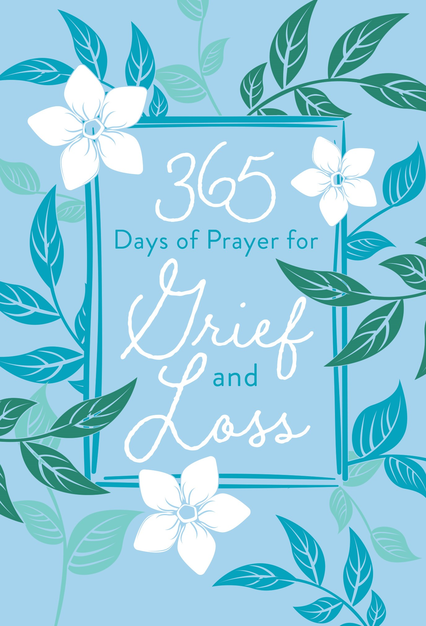 365 Days Of Prayer For Grief And Loss-Faux Leather