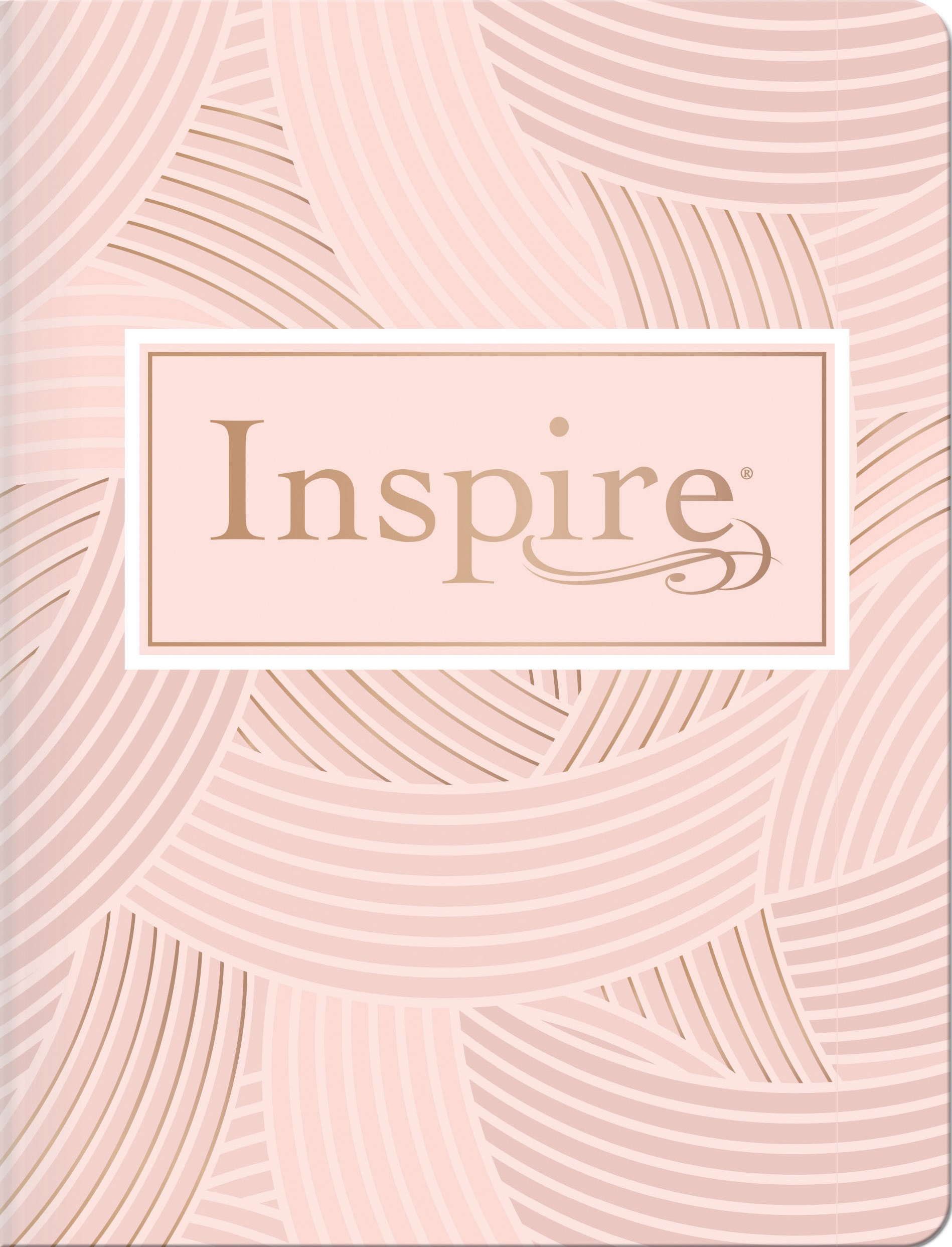 NLT Inspire Bible-Blush Softcover