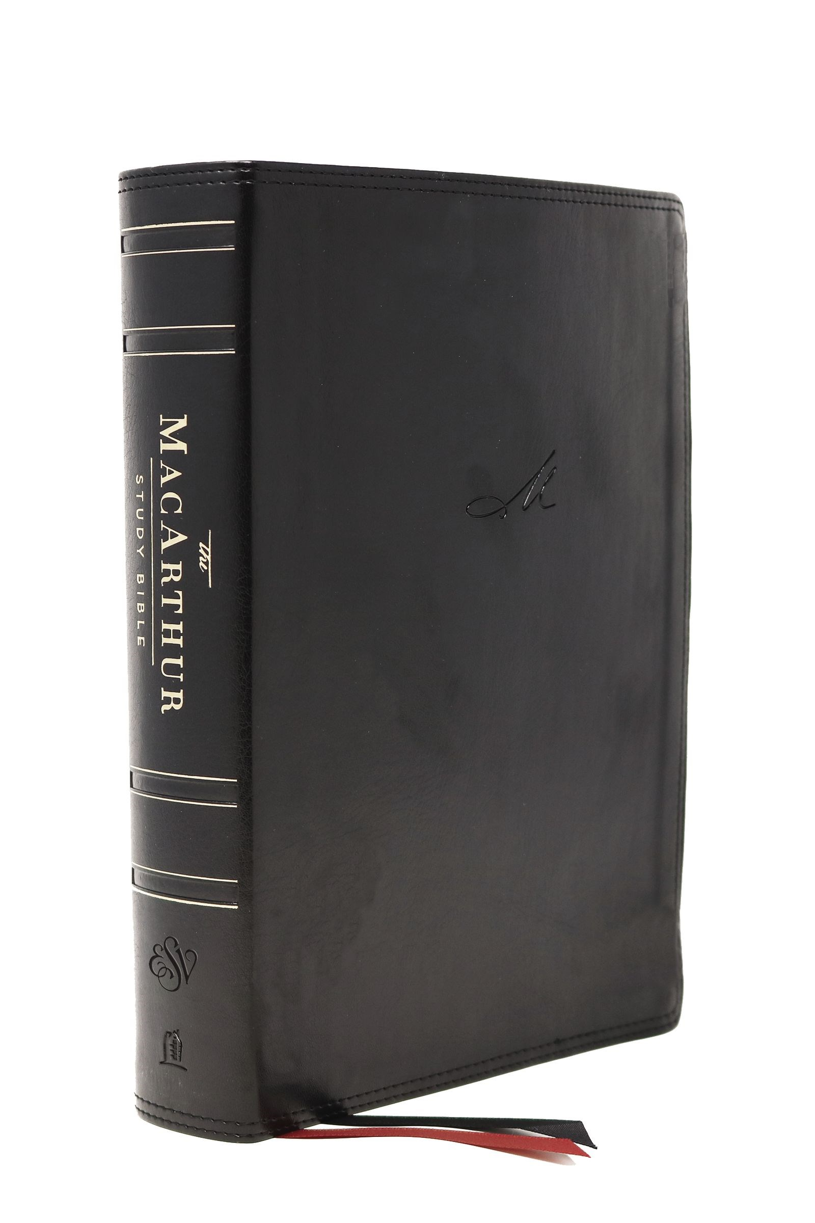 ESV MacArthur Study Bible (2nd Edition)-Black Leathersoft