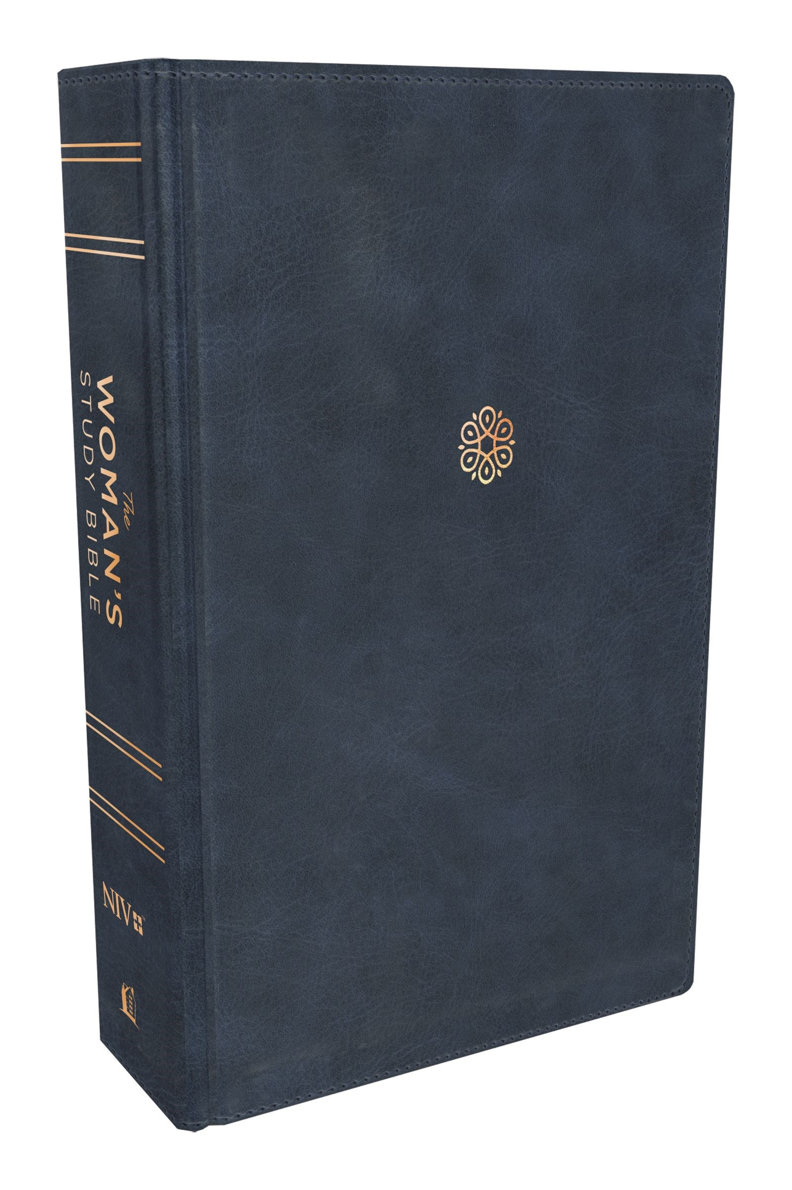 NIV The Woman's Study Bible (Full Color)-Blue Leathersoft