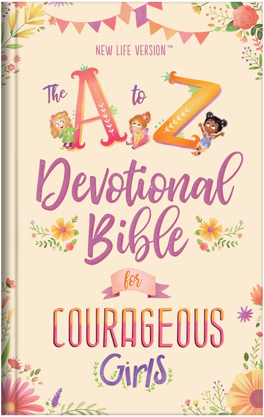 NLV The A To Z Devotional Bible For Courageous Girls-Hardcover