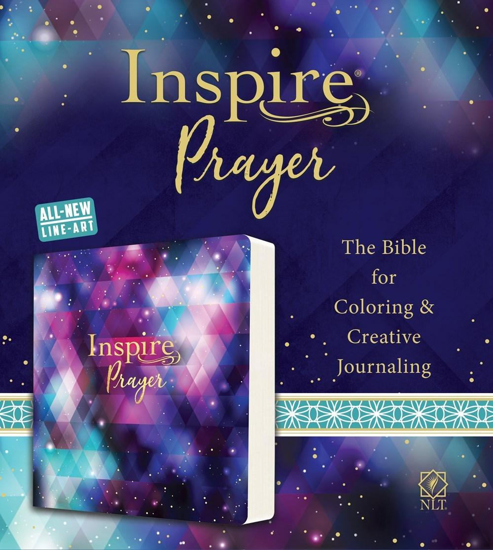 NLT Inspire Prayer Bible-Softcover