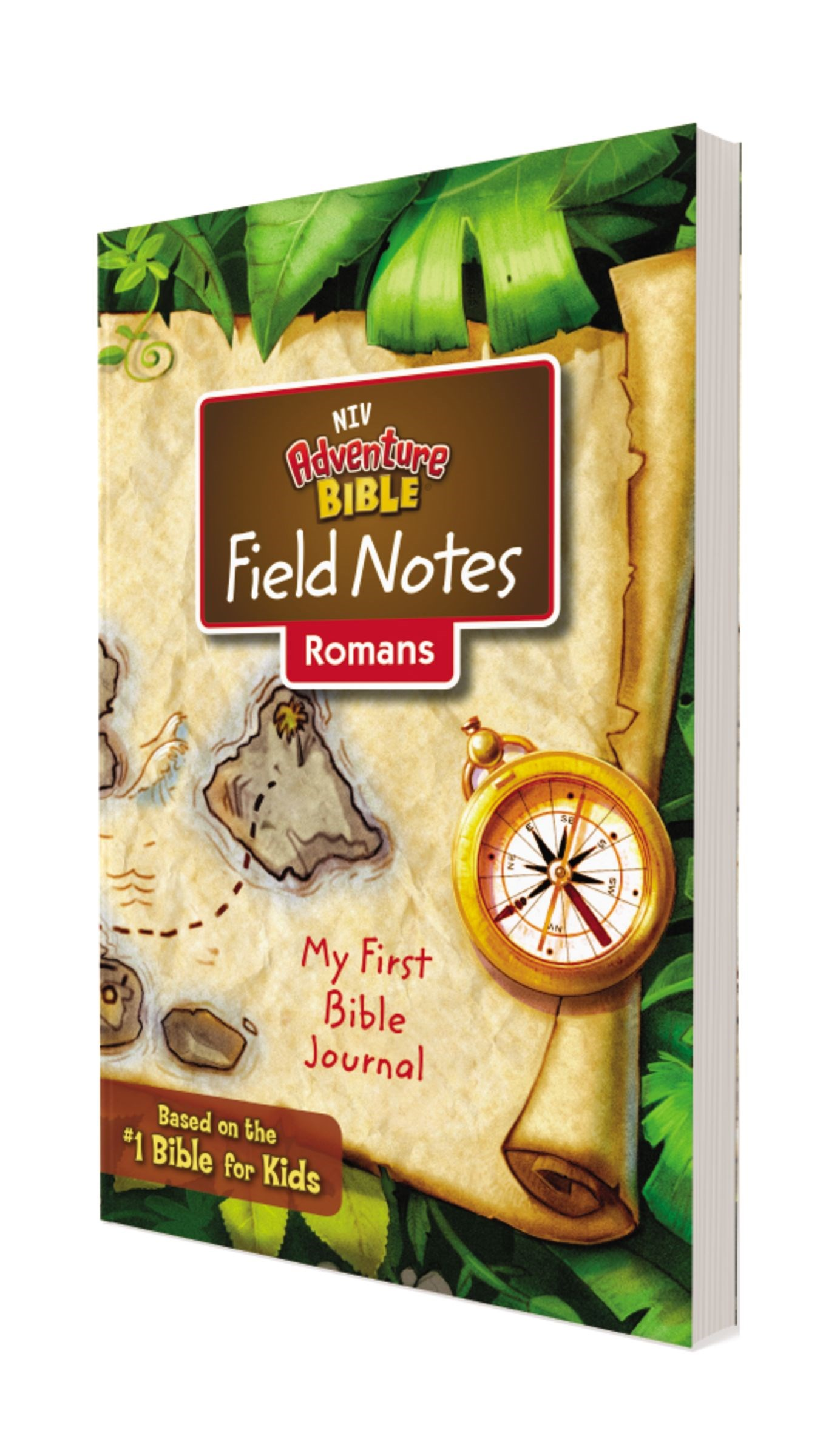NIV Adventure Bible Field Notes: Romans (Comfort Print)-Softcover