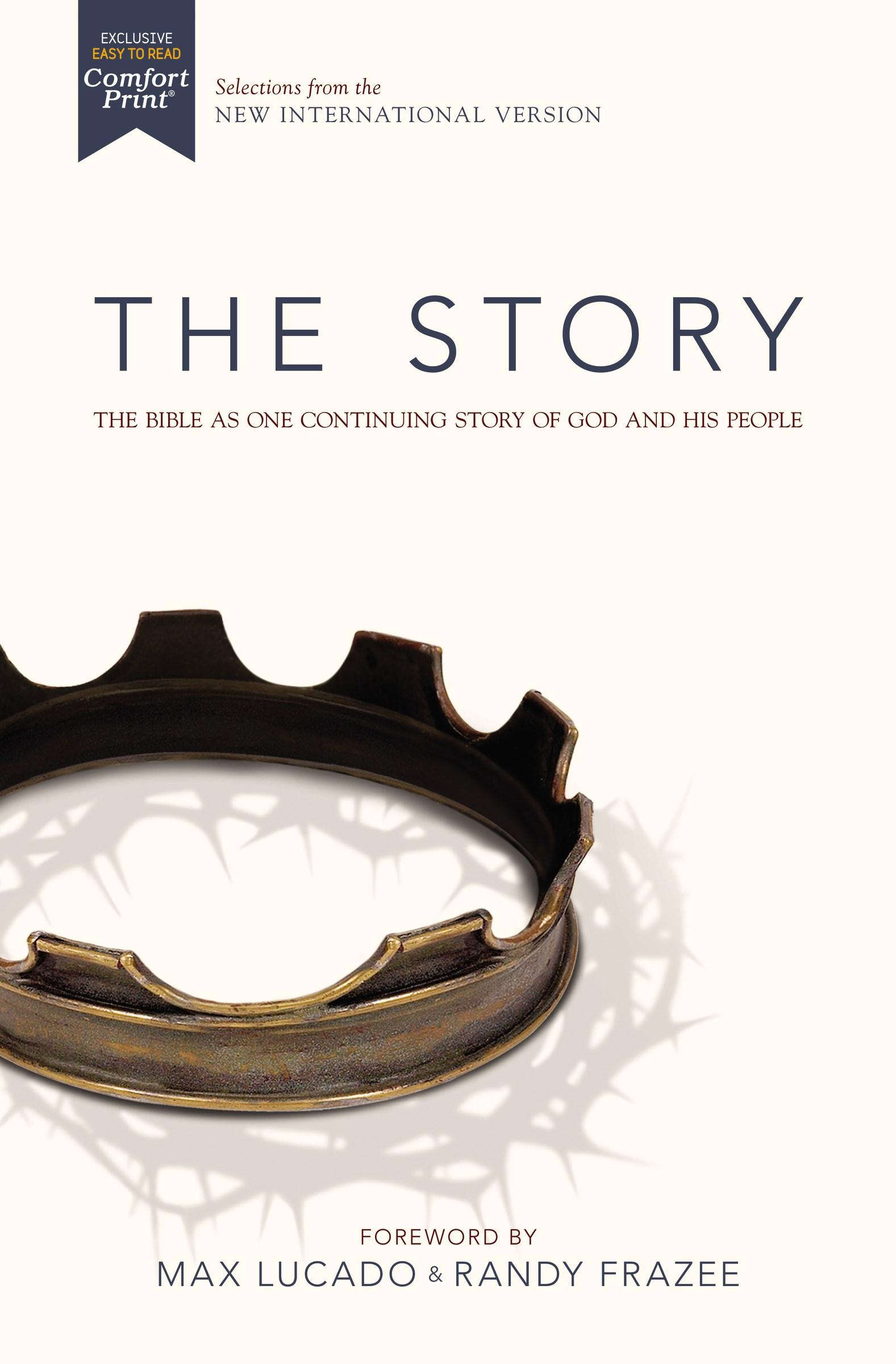 NIV The Story (Comfort Print)-Hardcover