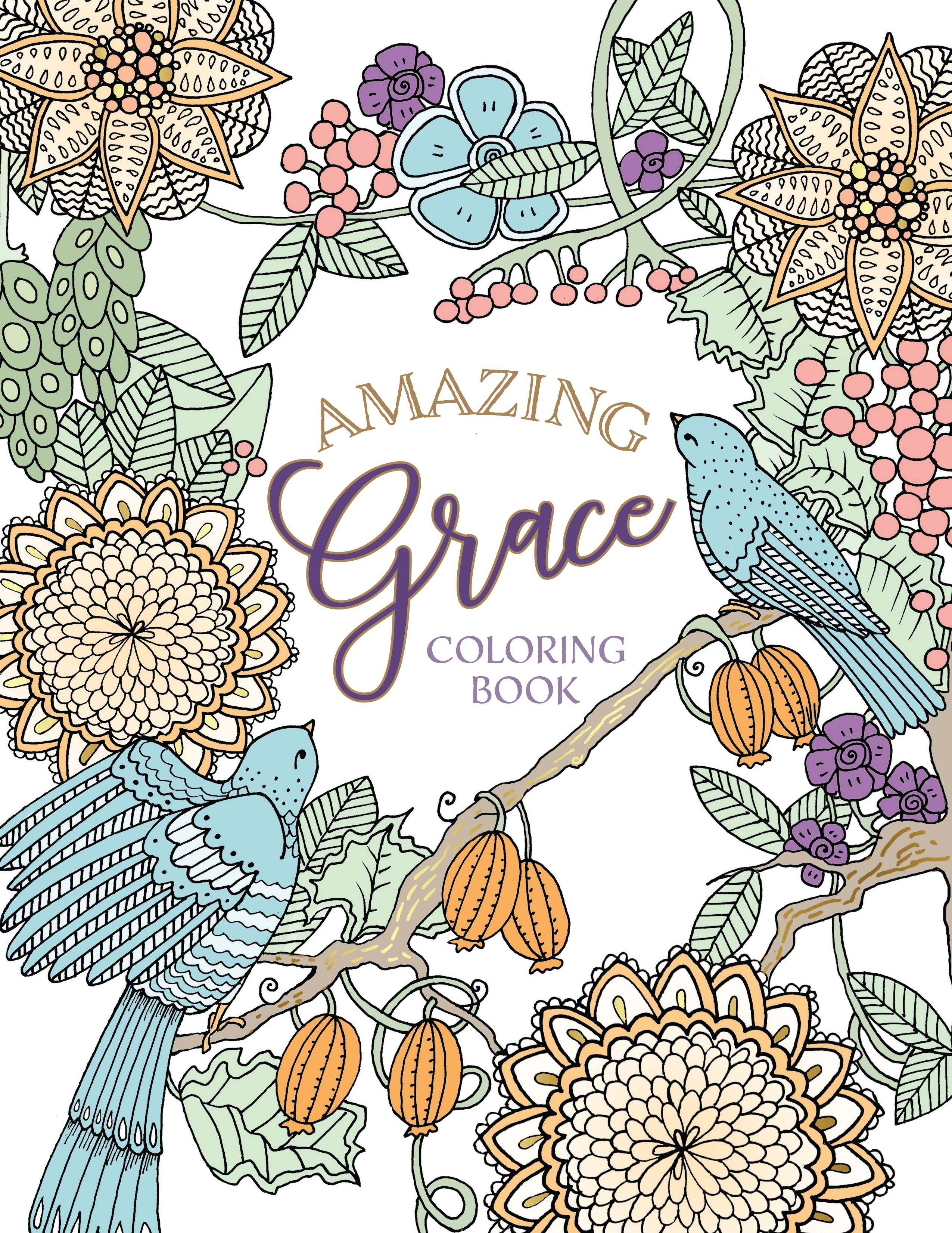 Amazing Grace Coloring Book (Majestic Expressions)