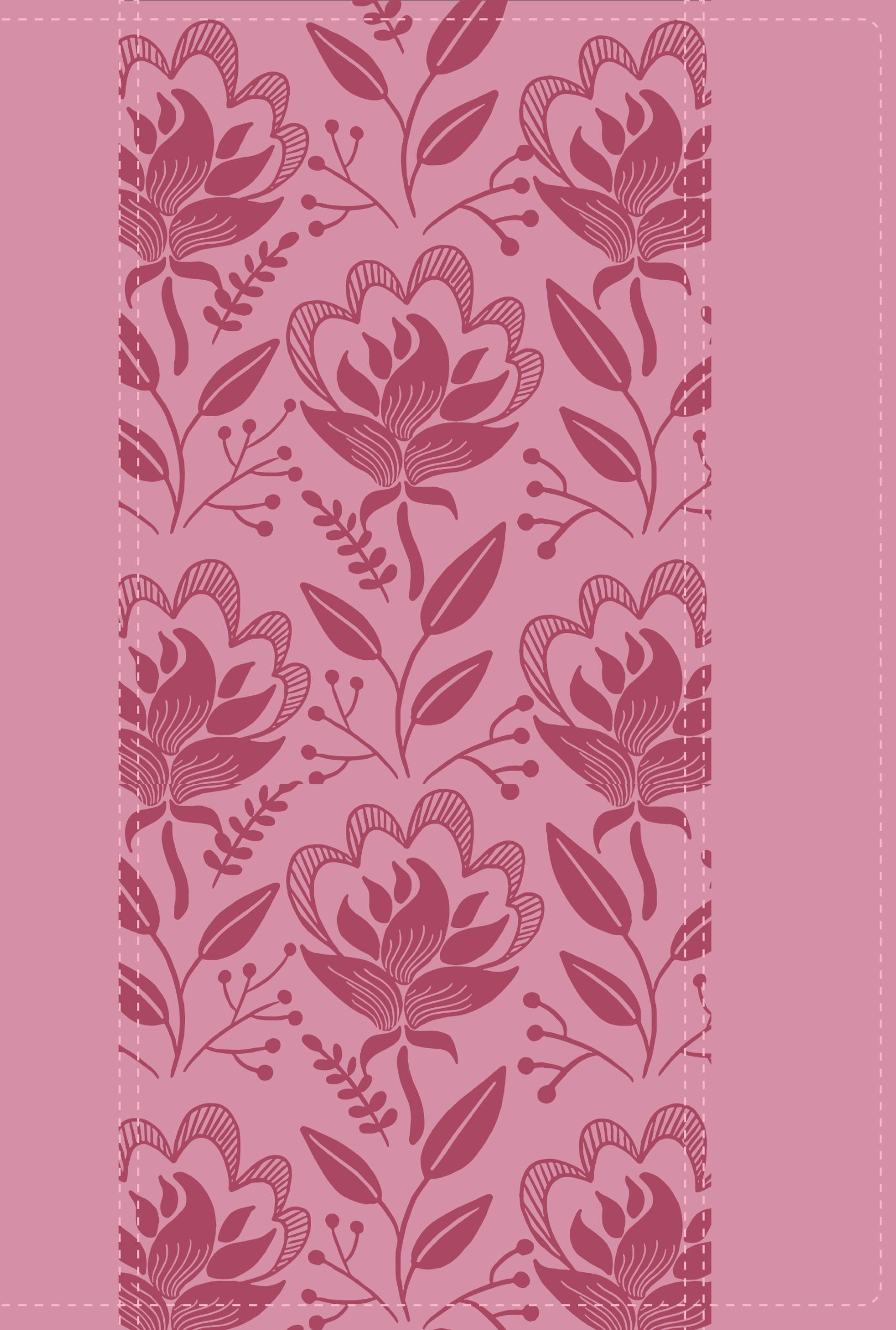 NKJV A Woman After God's Own Heart Bible-Rose Imitation Leather