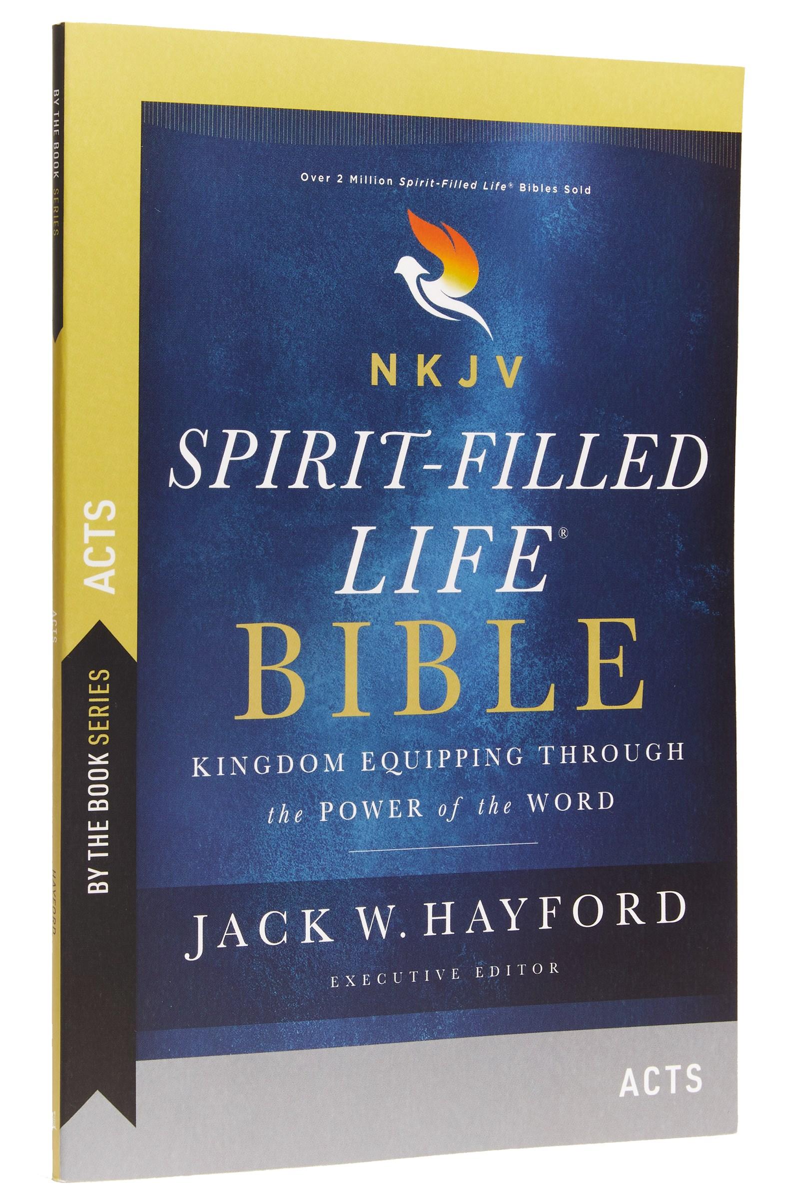 NKJV Spirit-Filled Life Bible: Acts (Comfort Print)-Softcover