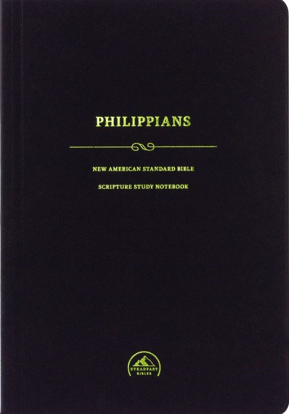 NASB Scripture Study Notebook: Philippians